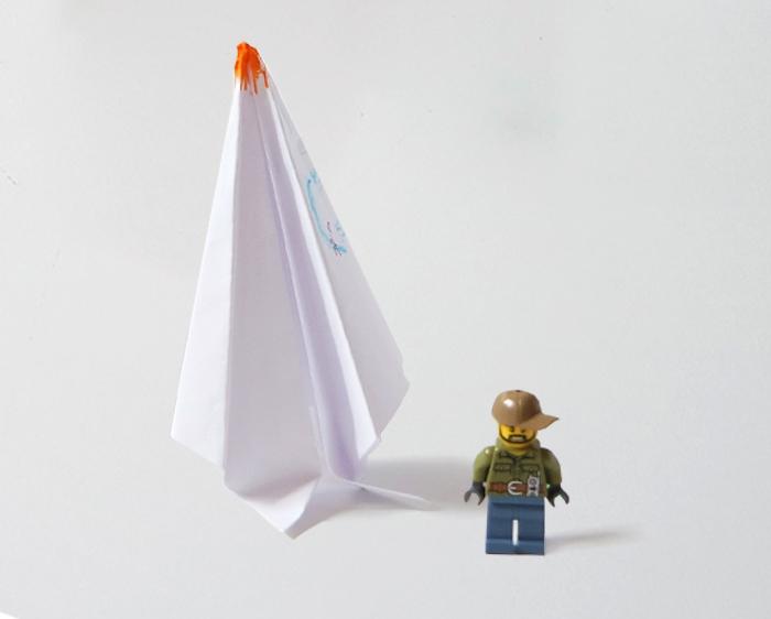 The Somersault Rocket' model